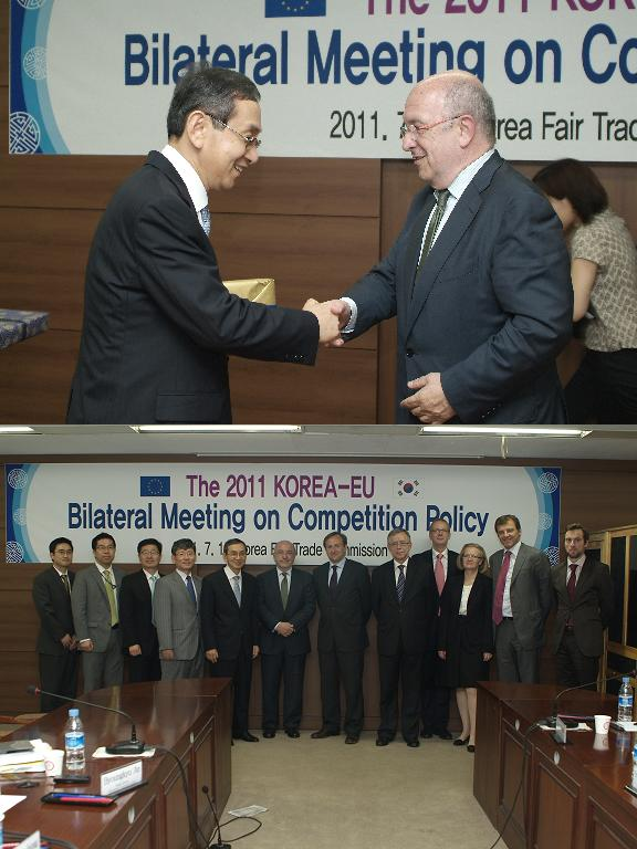 The 2011 KOREA-EU Bilateral Meeting on Competition Policy